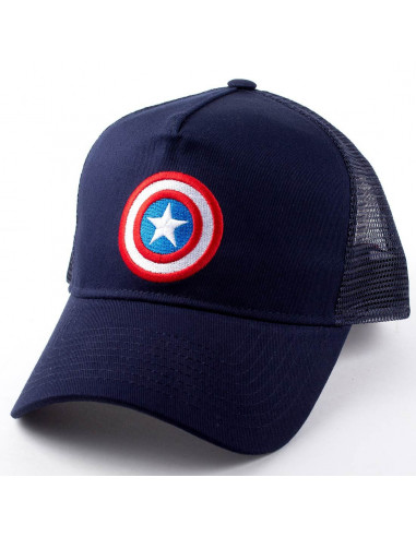 Marvel Captain America Trucker Cap - Baseball Cap
