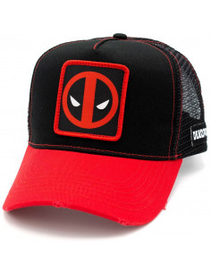 Marvel Deadpool Trucker Cap - Deadpool Patch
