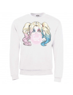 Harley quinn Sweat-shirt DC comics  - HARLEY BUBBLE