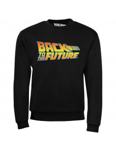 Sweat-shirt Retour Vers Le Futur - Logo Back To The Future
