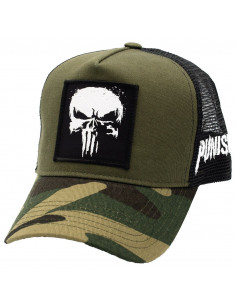 Marvel Punisher Trucker Cap - Logo Punisher