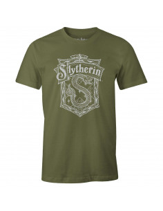 T-shirt Harry Potter - Slytherin School