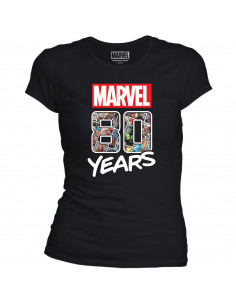 Marvel Woman's T-shirt - Marvel 80 Years