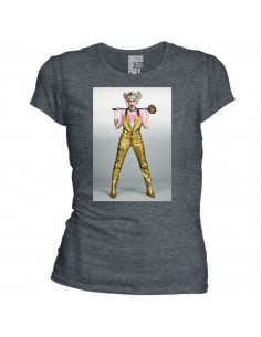 Birds of Prey DC Comics Women's T-shirt - Harley Bad Pose
