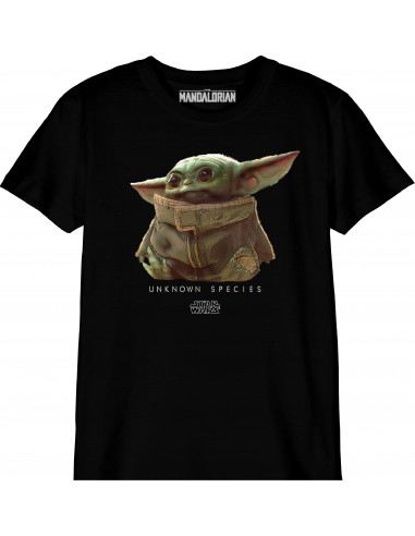 T-shirt Enfant Star Wars The Mandalorian - Baby Yoda Unknown Species