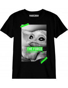 T-shirt Enfant Star Wars The Mandalorian - Baby Yoda Poster