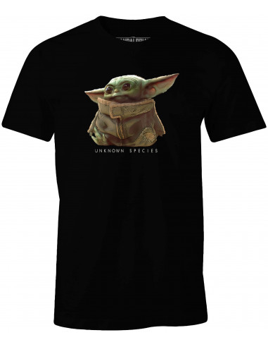 Star Wars The Mandalorian T-shirt - Baby Yoda Unkown Species