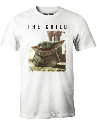 Star Wars The Mandalorian T-shirt - Baby Yoda The Child