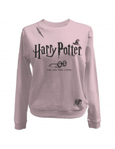 Sweat-shirt Femme Harry Potter - The Boy Who Lived