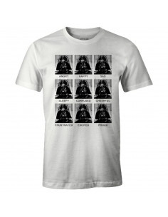 T-shirt Star Wars - Vader Emotions