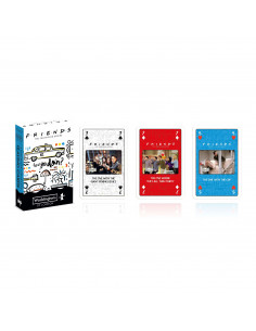 Set of 54 cards - Friends