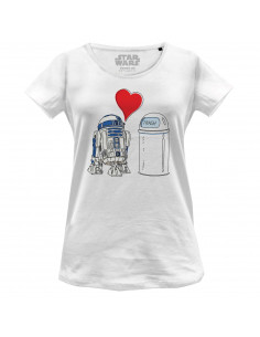 Star Wars Women's T-shirt - R2D2 Trash Love