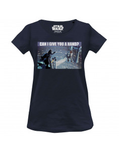 Star Wars Women's T-shirt - Can I Give You A Hand