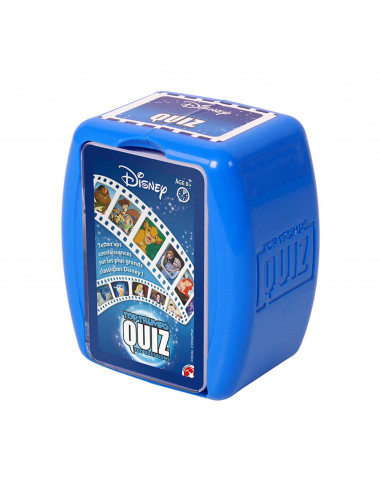 Quiz Top Trumps Disney - 500 Questions - Board game - French version