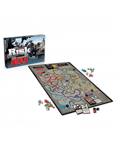 Risk The Walking Dead - Comics Edition - Board game - French version