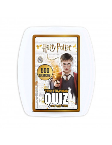 Quiz Top Trumps Harry Potter - 500 Questions - Board game - French version