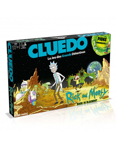 Cluedo Rick and Morty - Board game - French version