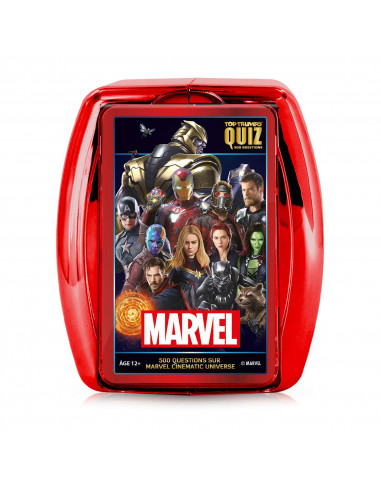 QUIZ MARVEL - Cinematic Universe - 500 Questions - Board game - French version