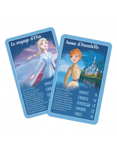 Battle Game Top Trumps - Frozen 2 Disney - Board game - French version