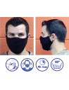Washable protective masks (sold by 2)