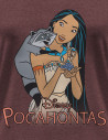 Pocahontas Disney T-shirt - Pocahontas with fruit