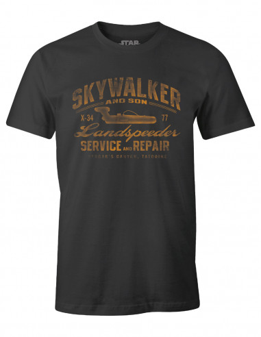 T-shirt Star Wars - Skywalker Landspeeder Repair
