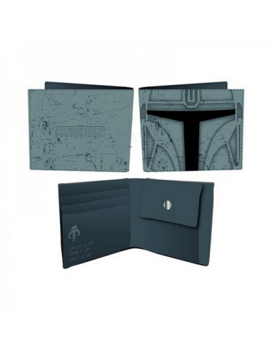 Star Wars The Mandalorian Wallet -...