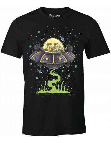 Rick and Morty T-shirt - Soucoupe