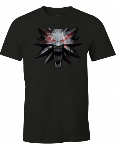 The Witcher T-shirt - Wolf Medaillon