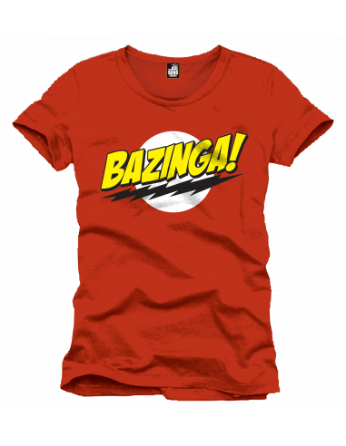 The Big Bang Theory T-shirt - Bazinga