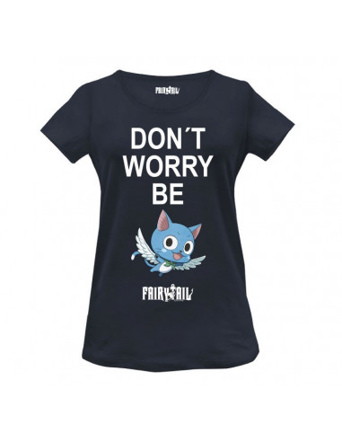 Fairy Tail Woman T-shirt - Be Happy