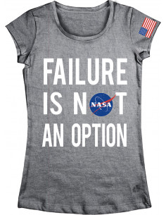 T-shirt Femme NASA - Failure Is Not an Option