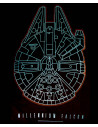 Tshirt homme Star Wars VII - Millennium Falcon - Legend Icon