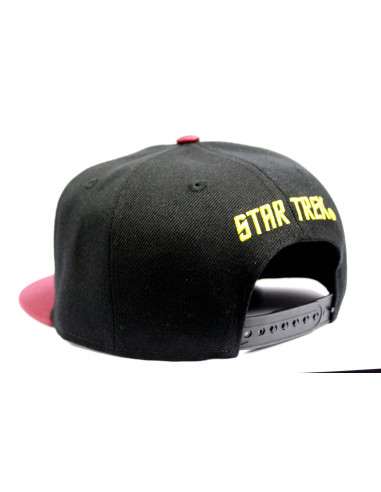 Casquette Star Trek - Scott Red