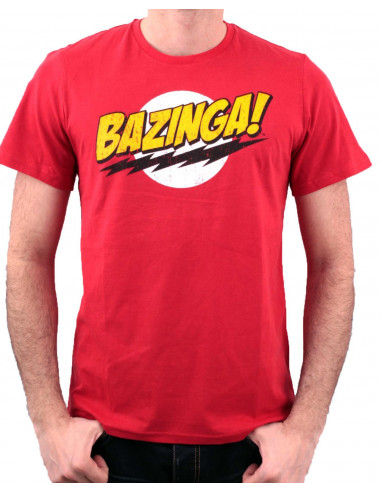 Tshirt homme Big Bang Theory - Bazinga - Legend Icon