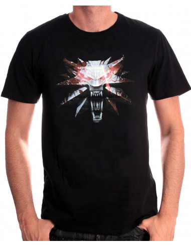 The Witcher 3 T-shirt - Wolf Medaillon