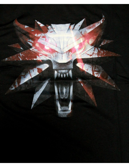 T-shirt The Witcher - Wolf Medaillon