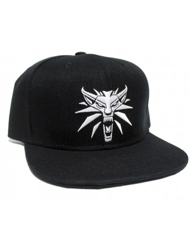 Casquette snapback The Witcher - Wolf Logo - Legend Icon