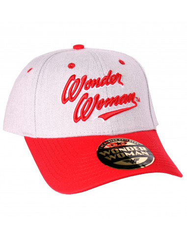 Casquette Wonder Woman Dc Comics - Text Logo