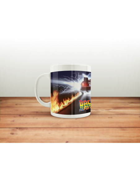 Mug Back to the Future - Fire Wheels