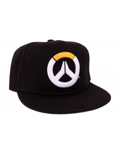 Casquette snapback Overwatch - Full Black