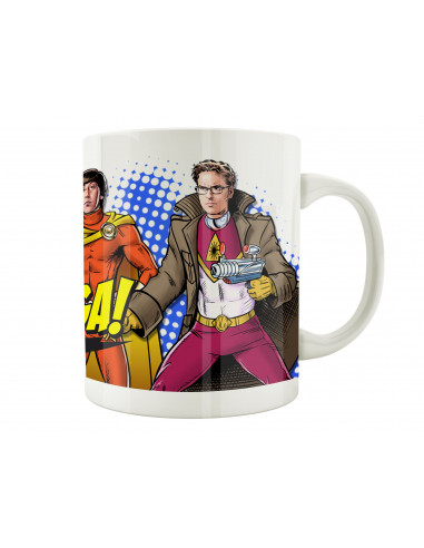 Mug Big Bang Theory - Heros Style - Legend Icon