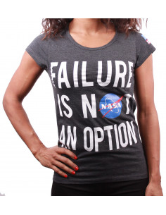 Tshirt NASA Femme - Failure is not an option