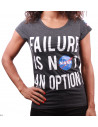 T-shirt NASA Femme - Failure is not an option