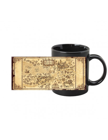 Mug Magic Harry Potter - Carte du Maraudeur