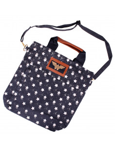 Sac Wonder Woman Beach bag - Multi Stars
