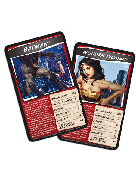 Top Trumps Jeu de Bataille DC Comics