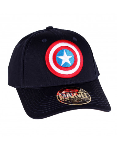 Casquette Captain America Marvel - Shield