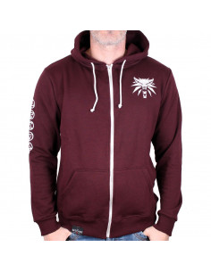 Sweat Shirt Zippe The Witcher 3 - Purple