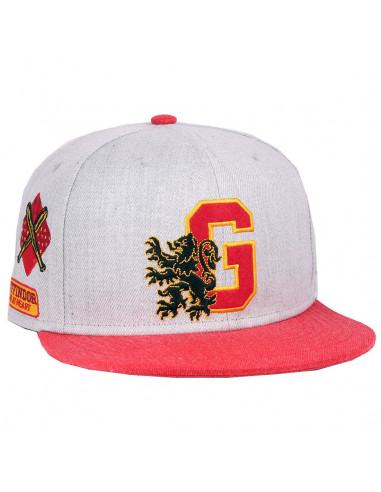 Casquette Harry Potter - Gryffondor School Patchs